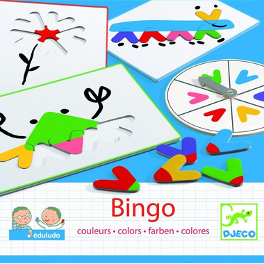 Djeco, bingo Kolory