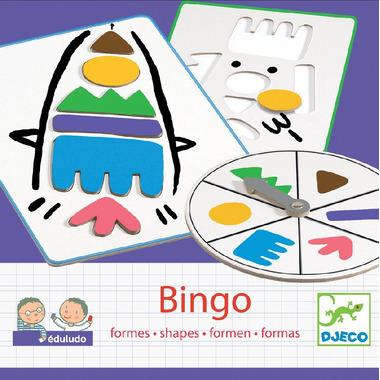 Djeco, bingo Formy