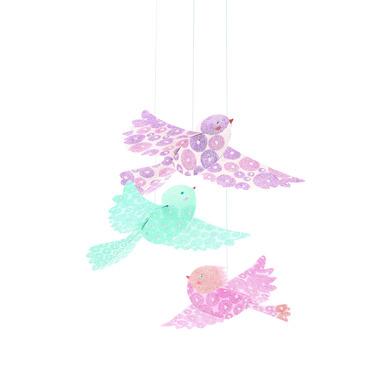 Djeco, brokatowe ptaszki