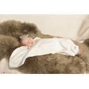 Otulacz bambusowy supeRRO newborn - ecru