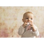 supeRRO baby set - różowy, ecru, szary