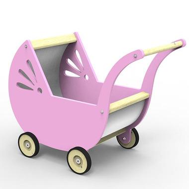 Wózek różowy Planeco