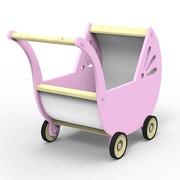 Wózek różowyPlaneco