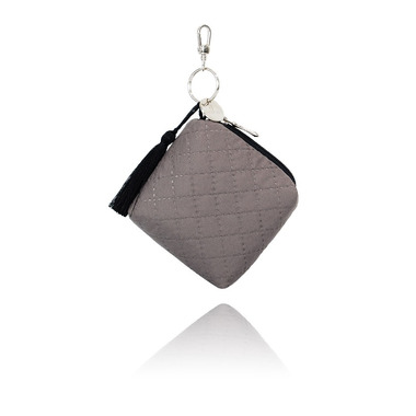 Mini torebka - etui na smoczki - choco