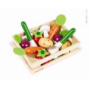 Warzywa drewniane 12 szt. w skrzyneczce