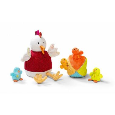 Kura Ophelie i kurczaki