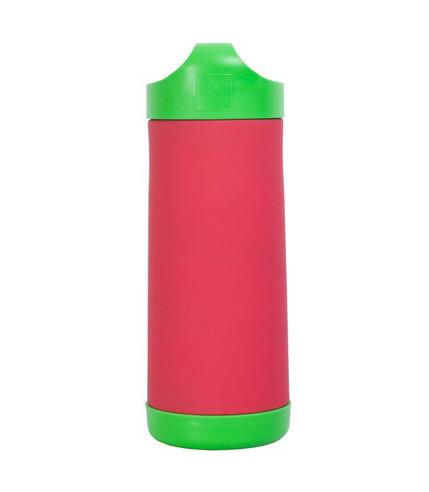 Duży termos do butelek i żywności (czerwono-zielony)