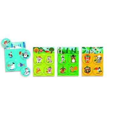 Djeco, drewniane Lotto - Zwierzątka