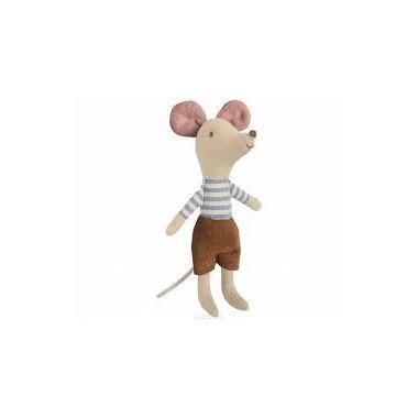 Maileg, myszka w pudełku starszy brat -