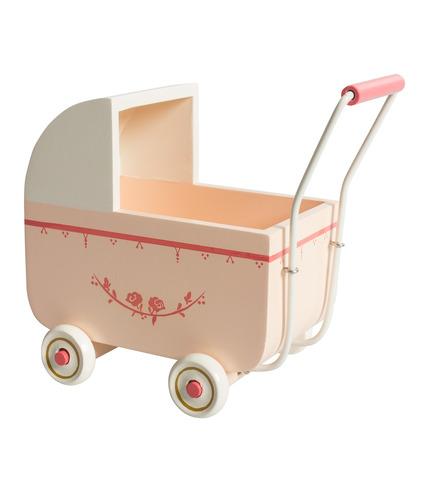 Wózek dla króliczka różowy Maileg