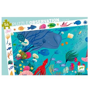Djeco, Puzzle obserwacyjne Podwodny Świat