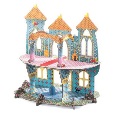 Djeco, układanka przestrzenna 3D Zamek księżniczki