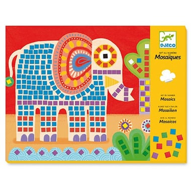 Mozaiki - Słonie i Ślimaki