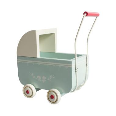 Maileg, wózek dla króliczka Średni mietowy