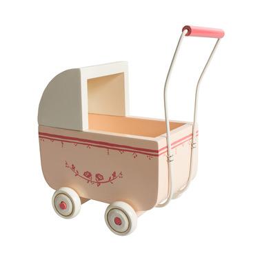 Maileg, wózek dla króliczka Średni różowy