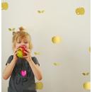 Naklejki ścienne jabłka złote