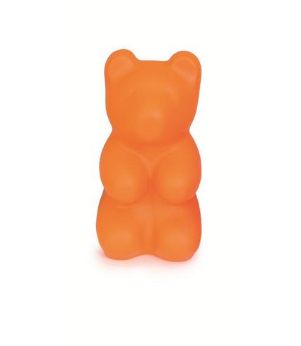 Lampka Duży Miś Jelly pomarańczowy