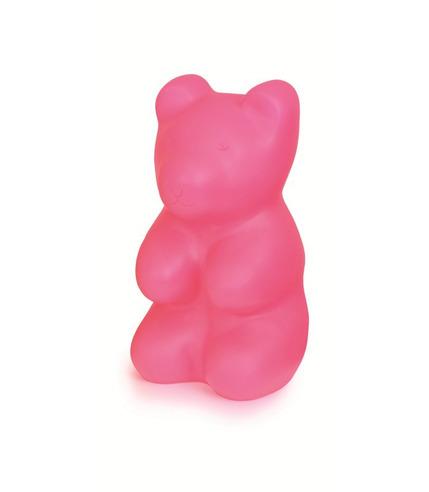 Lampka Duży Miś Jelly różowy