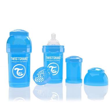 Butelka Twistshake anty-kolkowa 180ml niebieska