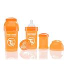 Butelka Twistshake anty-kolkowa 180ml pomarańczowa