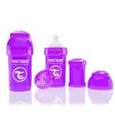 Butelka Twistshake anty-kolkowa 180ml fioletowa