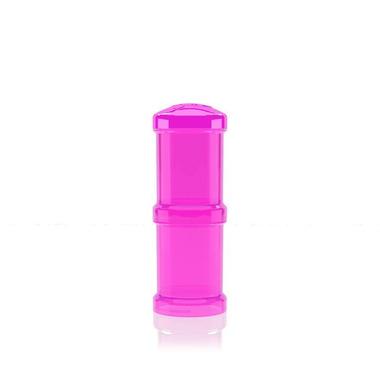 Pojemnik Twistshake 2x100ml różowy