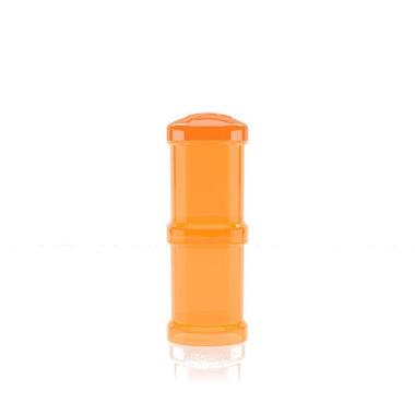 Pojemnik Twistshake 2x100ml pomarańczowy