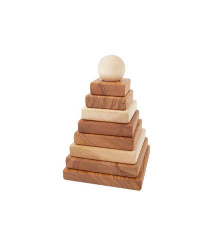 Piramida kwadratowa naturalna