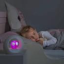LOU Lampka nocna aktywowana dźwiękiem - różowa