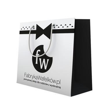 Elegancka torba prezentowa 35x34x20
