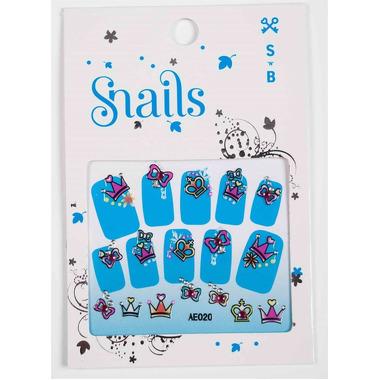 Naklejki na paznokcie Snails Perfect Princess