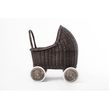 Wózek Amelie szary/grochy