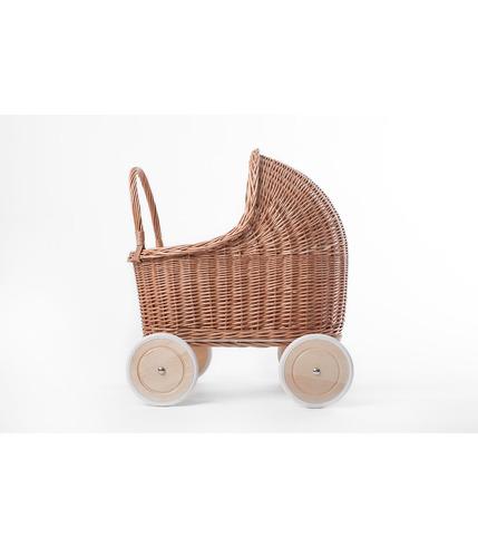 Wózek Amelie naturalny/róż