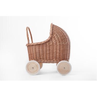 Wózek Amelie naturalny/mięta