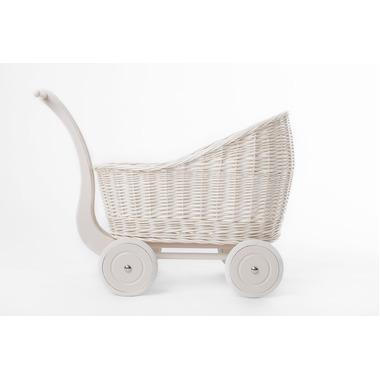 Wózek Colette biały/koral