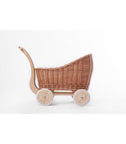 Wózek Colette naturalny/róż