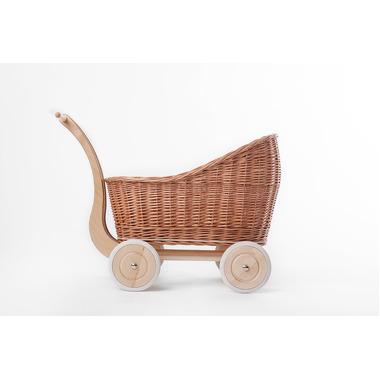 Wózek Colette naturalny/mięta