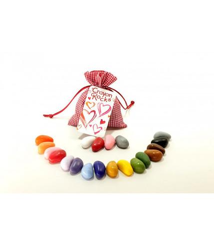 Kredki Crayon Rocks VALENTINE bag - 20 kredek