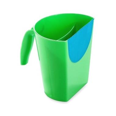 Kubek do mycia głowy zielony