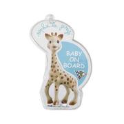 Żyrafa Sophie - uwaga dziecko na pokładzie