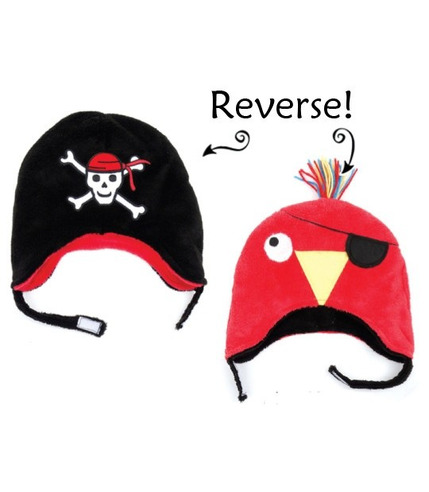 FlapJack Czapka Zimowa Pirat/Papuga