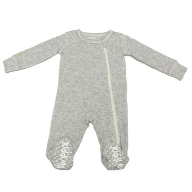 Pajacyk Light Grey Fleck 0-3 m