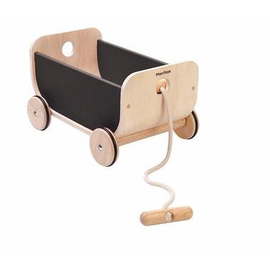 Wózek – wagon czarny, Plan Toys