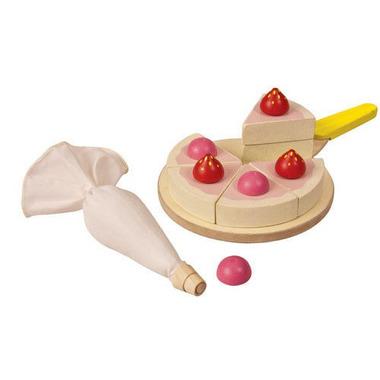 Tort - zestaw do zabawy w sklep i gotowanie, Plan Toys