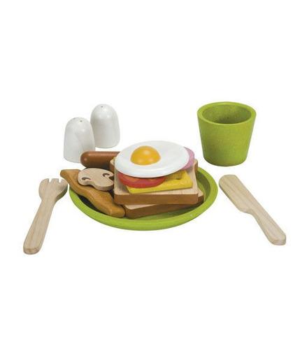 Zestaw śniadaniowy do zabawy w gotowanie i sklep, Plan Toy