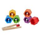 Plaster miodu z pszczółkami zabawka zręcznościowa, Plan Toys