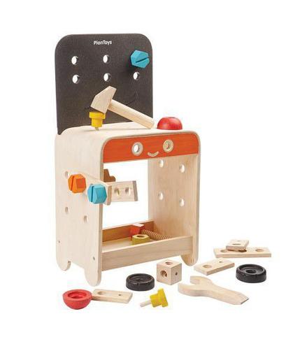 Drewniany warsztat, Plan Toys