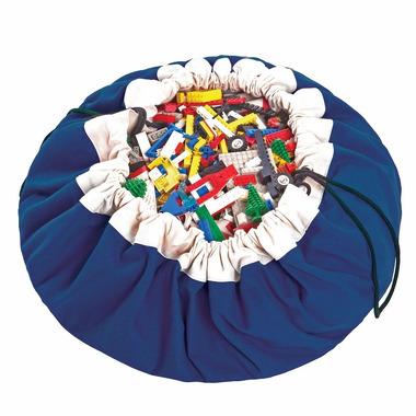 Worek na klocki i zabawki  Niebieski