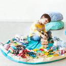 Worek na klocki i zabawki Fuksja
