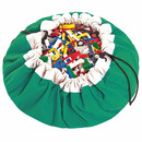 Worek na klocki i zabawki Zielony